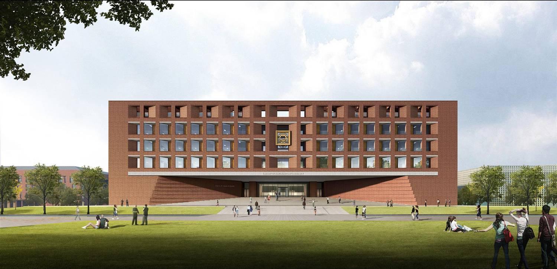 东北大学浑南校区图书馆