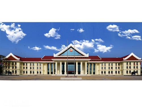 援老挝国家元首接待楼项目