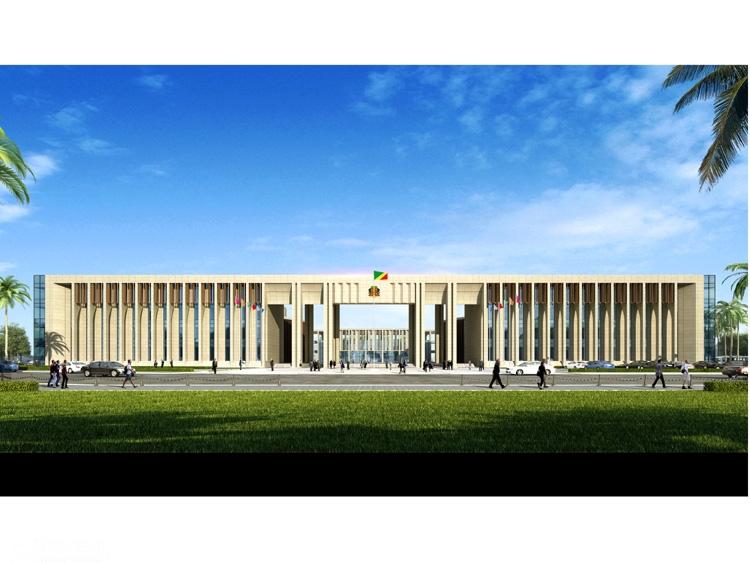 援刚果(布)新议会大厦项目